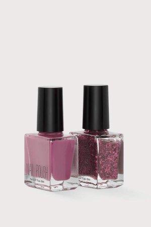 2-pack Nail Polish Set - Pink