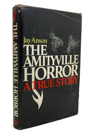 *clipped by @luci-her* THE AMITYVILLE HORROR by Jay Anson: Hardcover (1977) First Edition; Tenth Printing. | Rare Book Cellar