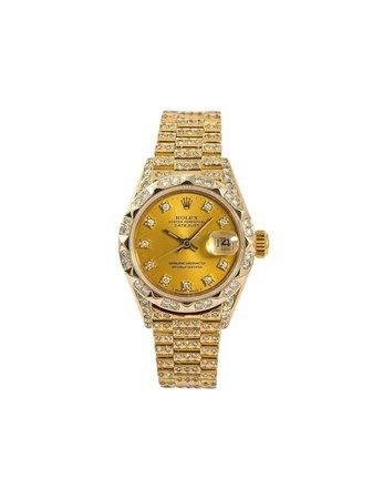 Rolex 1987 pre-owned Datejust 26mm - Farfetch
