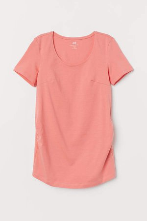 MAMA Jersey Top - Red
