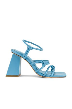 Song of Style Noelle Heel in Blue | REVOLVE