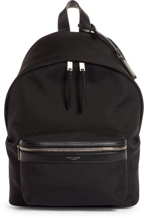 Mini City Canvas Backpack
