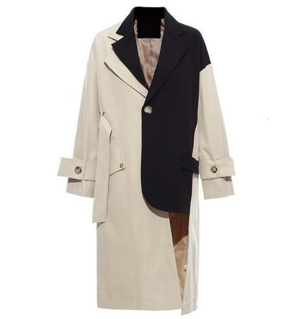 """The """"Manchester"""" Splice Trench Coat – Sarah Ashley"""