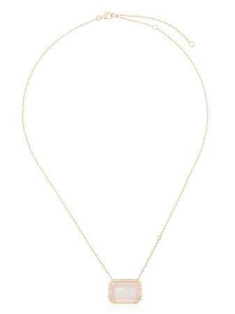 SHAY 18kt Yellow Gold Diamond Statement Necklace - Farfetch