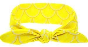 Yellow Lemons Head Wrap – Grace & Co 2016
