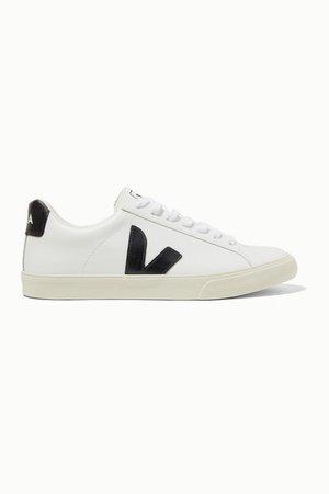 Veja   + NET SUSTAIN Esplar Sneakers aus Leder mit Gummibesatz   NET-A-PORTER.COM