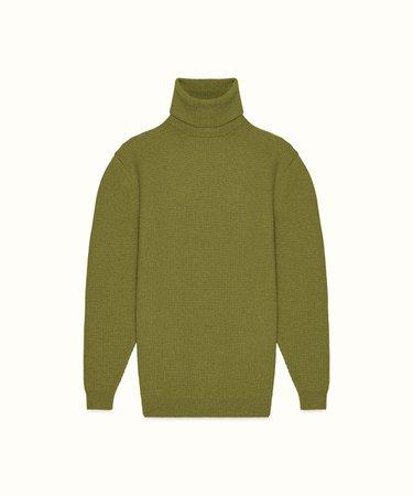 Fenty | Oversized turtleneck sweater - Olive Green 2/20