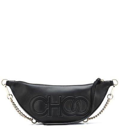Faye leather belt bag