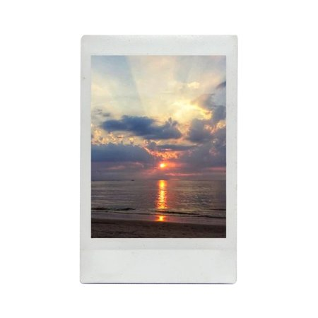 beach polaroid