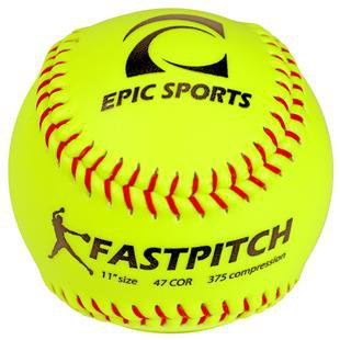 "Baden Autograph Blank Cover 12"" Softballs (DZ) 
