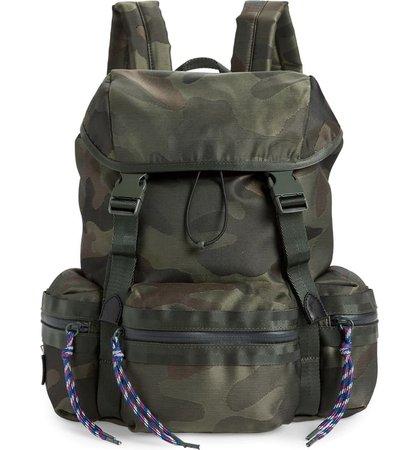 Rebecca Minkoff Downtown Camo Nylon Backpack | Nordstrom