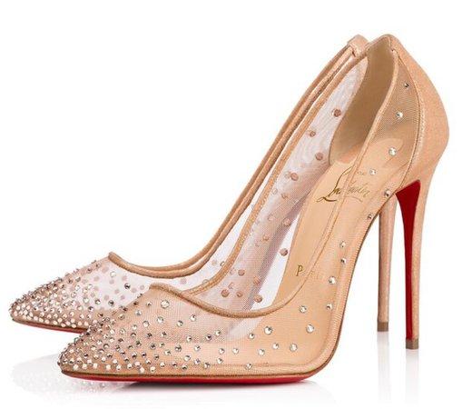 Louis Vuitton Heels (Nude)