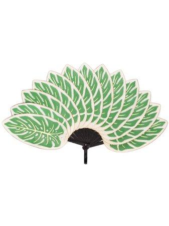 Pubumésu Leaf Fan Ss20