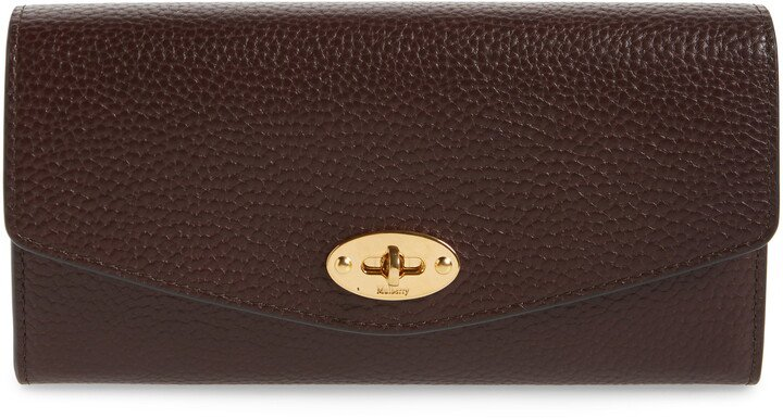 Darley Continental Calfskin Leather Wallet