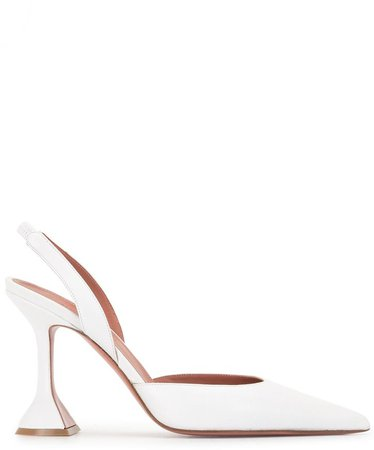 Sculpted Pointed-Toe Pumps