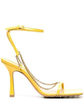 Bottega Veneta chain-link Sandals - Farfetch