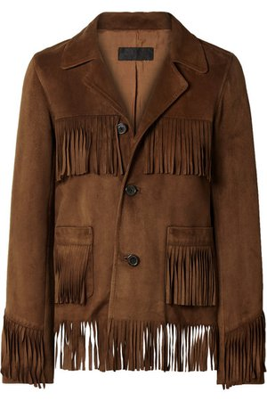 Nili Lotan   Frida fringed suede jacket   NET-A-PORTER.COM