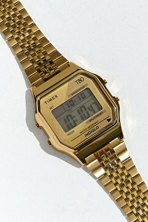 Timex T80 34mm Digital Watch | Urban Outfitters