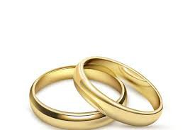 two wedding rings gold - Google Search