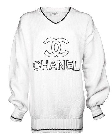 Chanel Oversized Knit Dress From 2007 Collection
