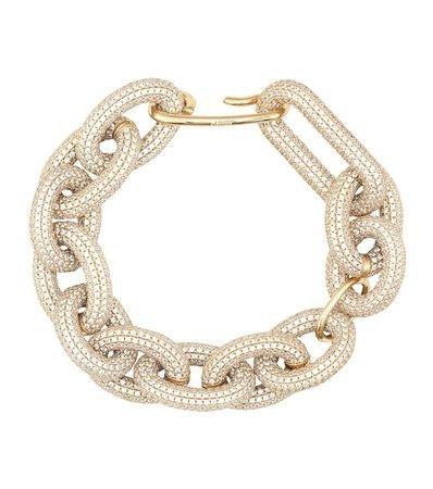 Crystal-Embellished Chain Bracelet | Jil Sander - Mytheresa