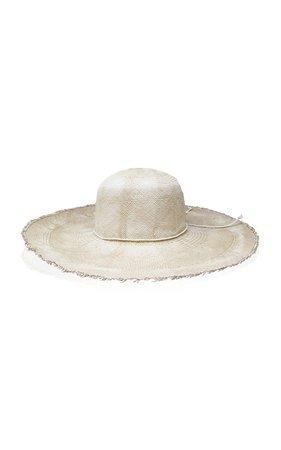 Lady Tie-Dyed Straw Hat by Sensi Studio | Moda Operandi
