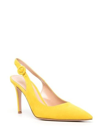 Gianvito Rossi pointed heeled pumps - FARFETCH