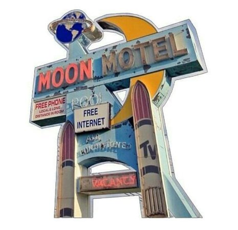 Blue moon motel polyvore moodboard filler hotel sign | moodboard, png, filler, minimal, overlay in 2018 | Pinterest | Mood boards, Polyvore and Mood