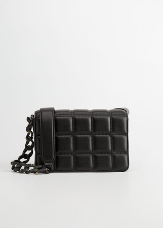 Quilted chain bag - Plus sizes | Violeta by Mango USA