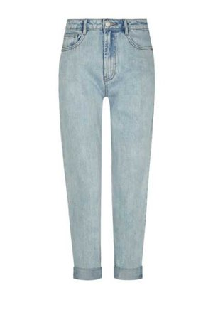 Light Blue Mom Jeans - Jeans - CLOTHING