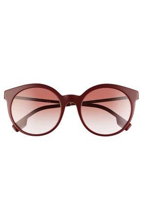 Burberry 53mm Round Sunglasses   Nordstrom