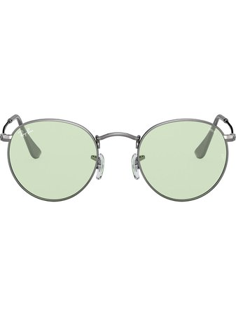 Ray-Ban Round Metal Tinted Sunglasses Ss20 | Farfetch.Com