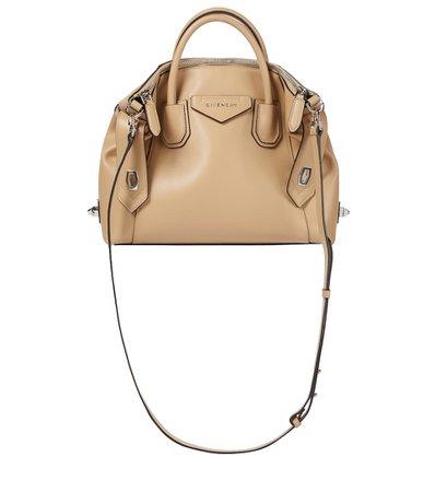 Givenchy - Antigona Soft Small leather tote   Mytheresa