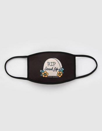 STICKIE BANDITS RIP Social Life Fashion Face Mask - BLKCO - SB-RIP-FM   Tillys