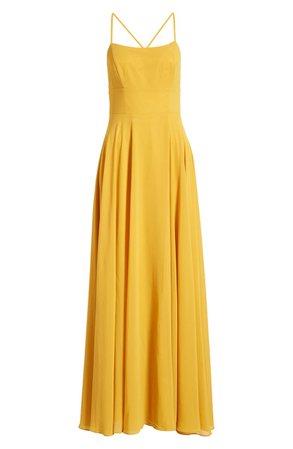 Lulus Dreamy Romance Backless Maxi Dress | Nordstrom