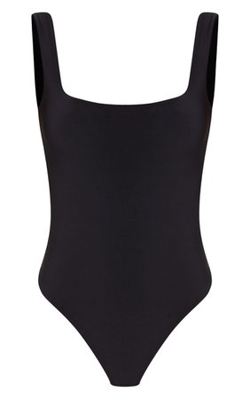 black tank bodysuit