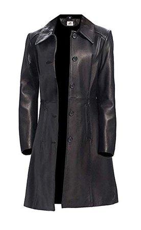 long black leather jacket - Google Search