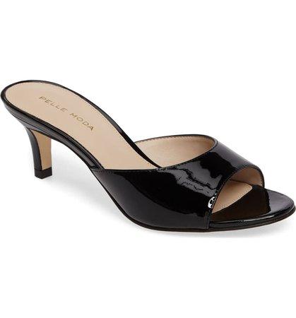 Pelle Moda Bex Kitten Heel Slide Sandal (Women) | Nordstrom