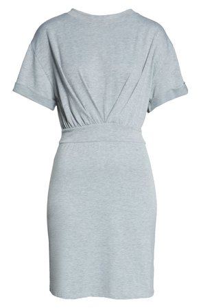 Fraiche by J Cinched Waist T-Shirt Dress | Nordstrom