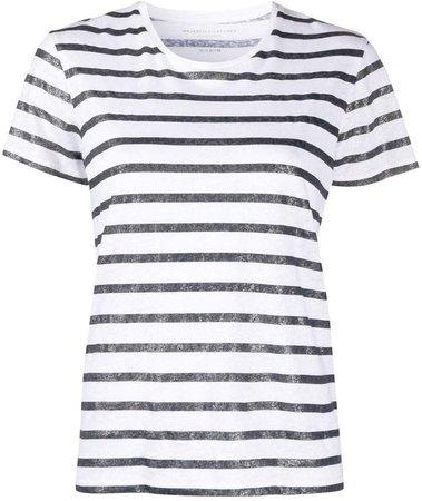 striped slim-fit T-shirt