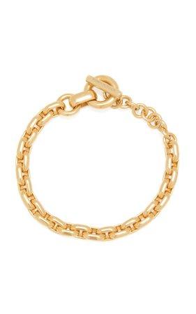 Chain Gold-Plated Bracelet By Bottega Veneta   Moda Operandi