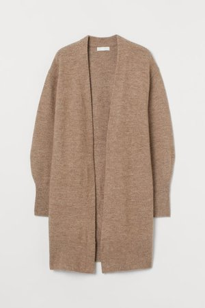 Long Cardigan - Taupe - Ladies | H&M US