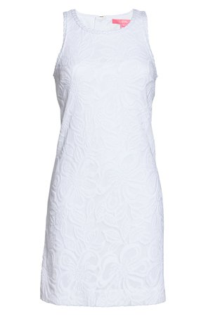 Lilly Pulitzer® Marquette Shift Dress white