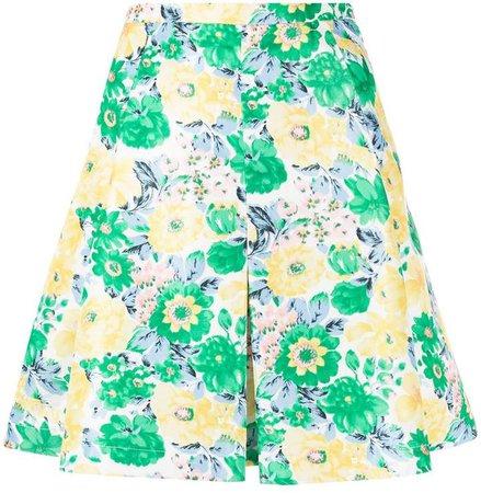 Plan C floral mini skirt