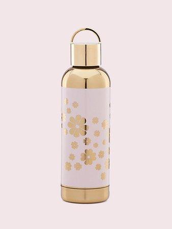 hydration blush spade flower water bottle | Kate Spade New York