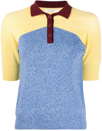 organic-cotton polo t-shirt