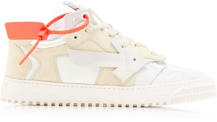Off White C/O Virgil Abloh Off Court Low-Top Sneakers