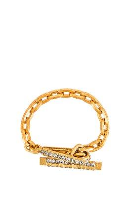 Elizabeth Cole Gig Bracelet in Golden Glow | REVOLVE