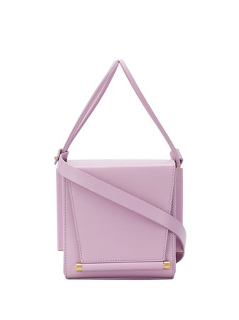 Purple Roksanda cube cross body bag SS20LG131 - Farfetch