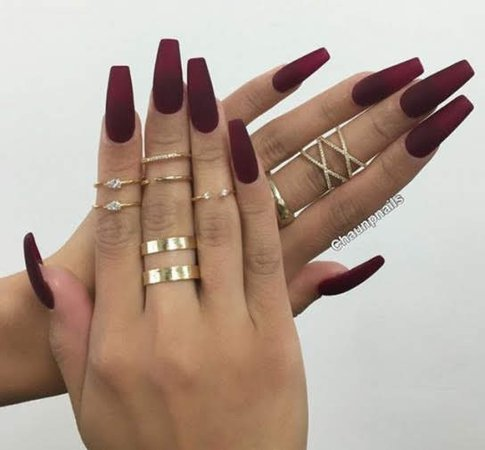 Best Red nails on Pinterest